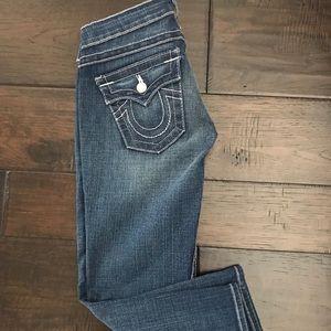 True Religion Crop Capri Jeans NWOT